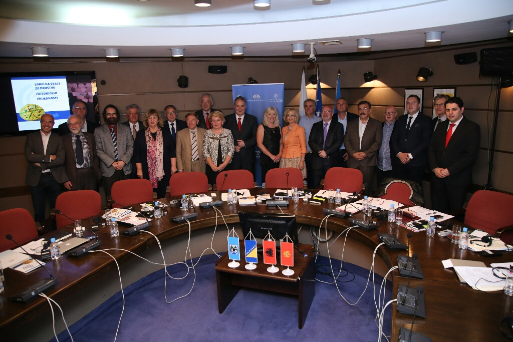 Mayors from South East Europe join in a Shared Societies effort