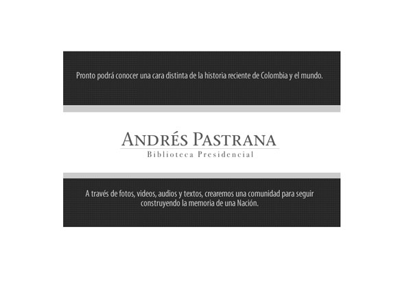 The Andrés Pastrana Presidential Library is launched