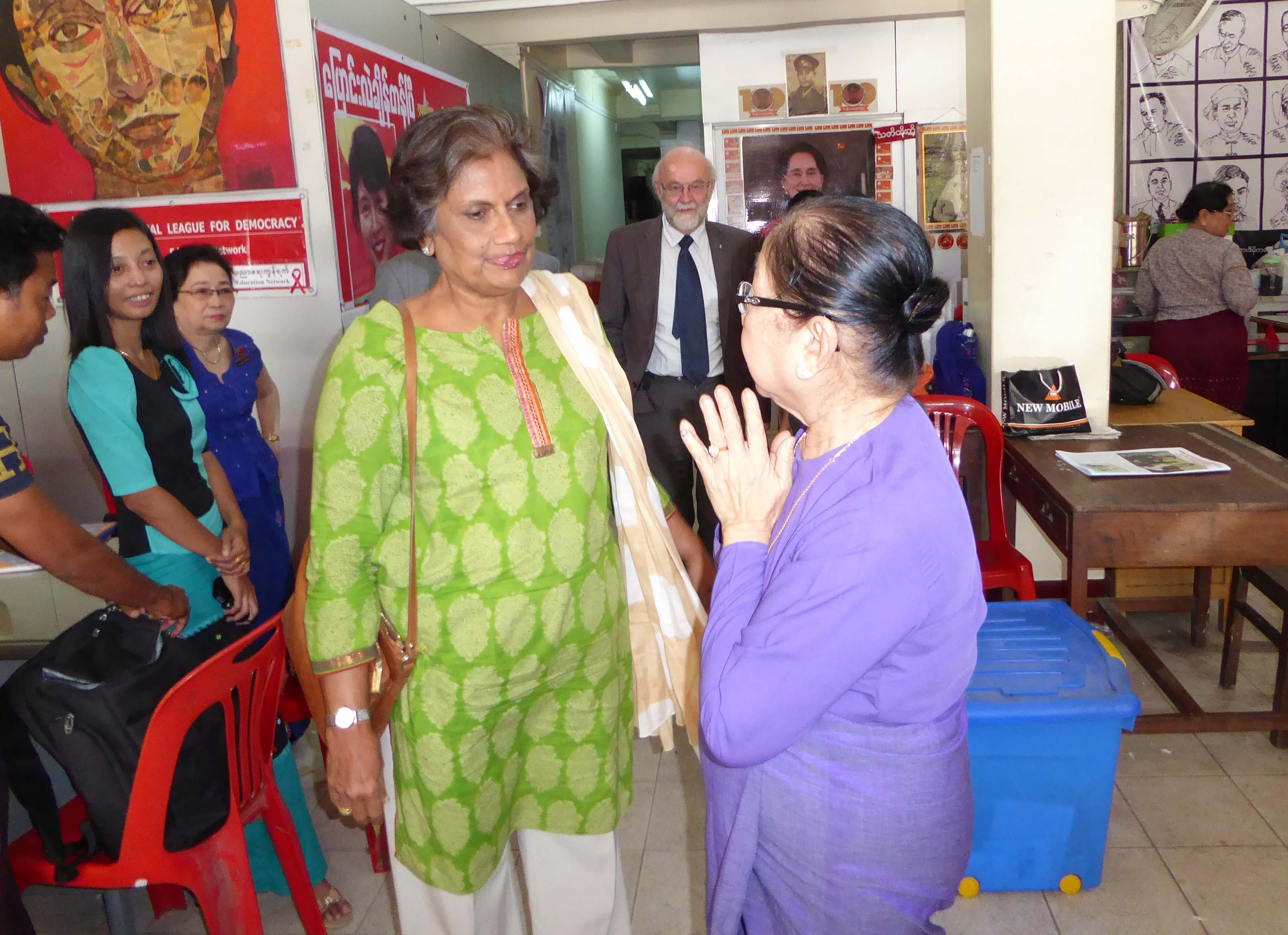 Promoting national reconciliation in Myanmar