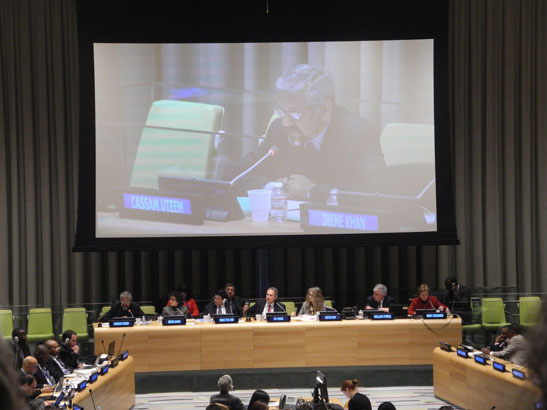Defining the roadmap for the Post-2015 Agenda