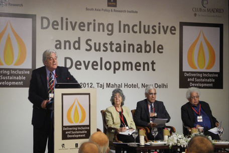 Delivering Inclusive and Sustainable Development: Conference in New Delhi