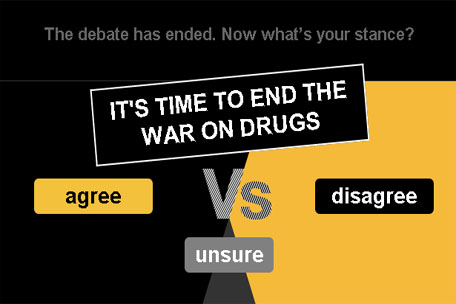 Time to end the war on drugs?