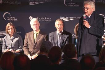 Two of our Members, Bill Clinton and Felipe González met with Tony Blair and other progressive leaders in New York to launch the Global Progress Council