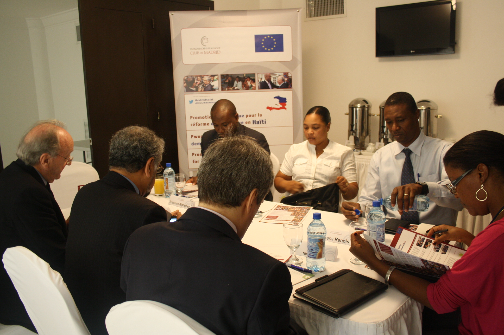 Club de Madrid supports the success of the Inter-Haitian dialogue process