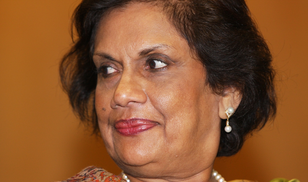 """President Chandrika Kumaratunga: """"The continued existence of inequality gives rise to terrorism"""""""