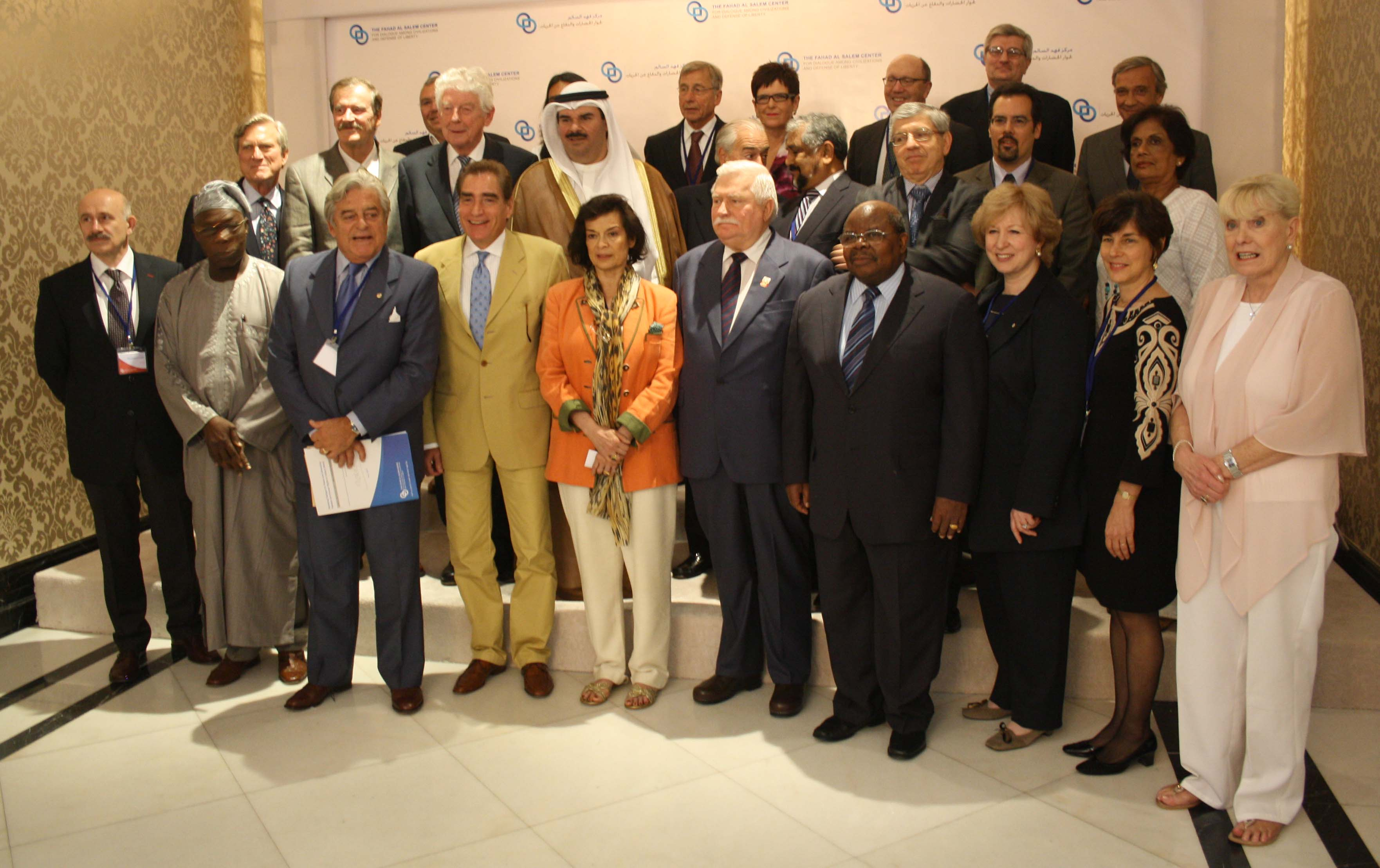 Former World Leaders Gather in Kuwait to Discuss Advancing Democractic Values and Human Rights
