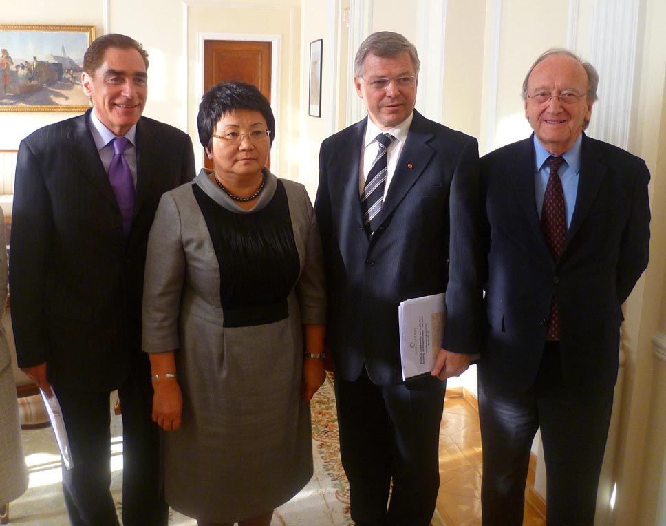 Political Leadership for Democratic Transition in Kyrgyzstan