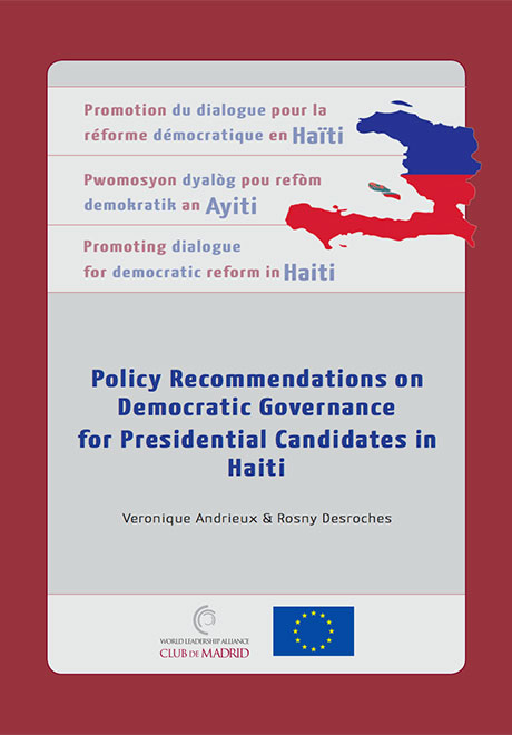 Policy Recommendations on Democratic Governance for Presidential Candidates in Haiti