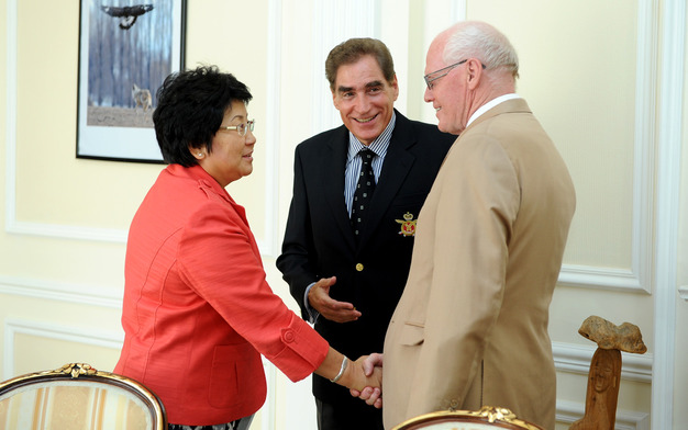 Members Birkavs and Roman Promote Shared Societies during Second Mission to Kyrgyzstan