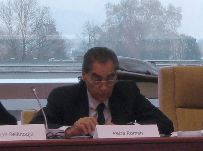 """Petre Roman: """"Internet democracy is based on the power of the message, the power of images and the power to act"""