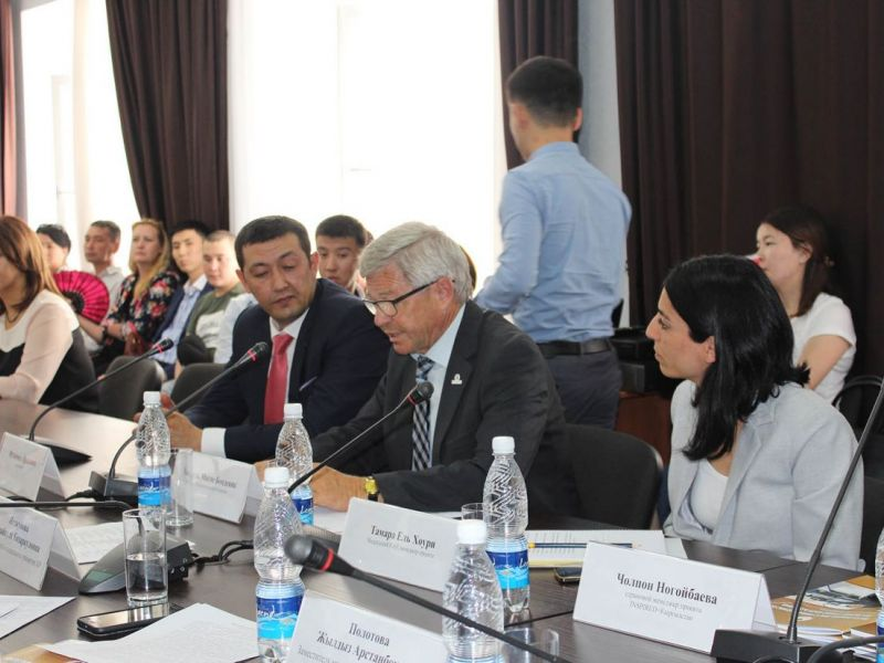 Kjell Magne Bondevik led a mission to Kyrgyzstan to support inclusion of persons with disabilities in the labour market