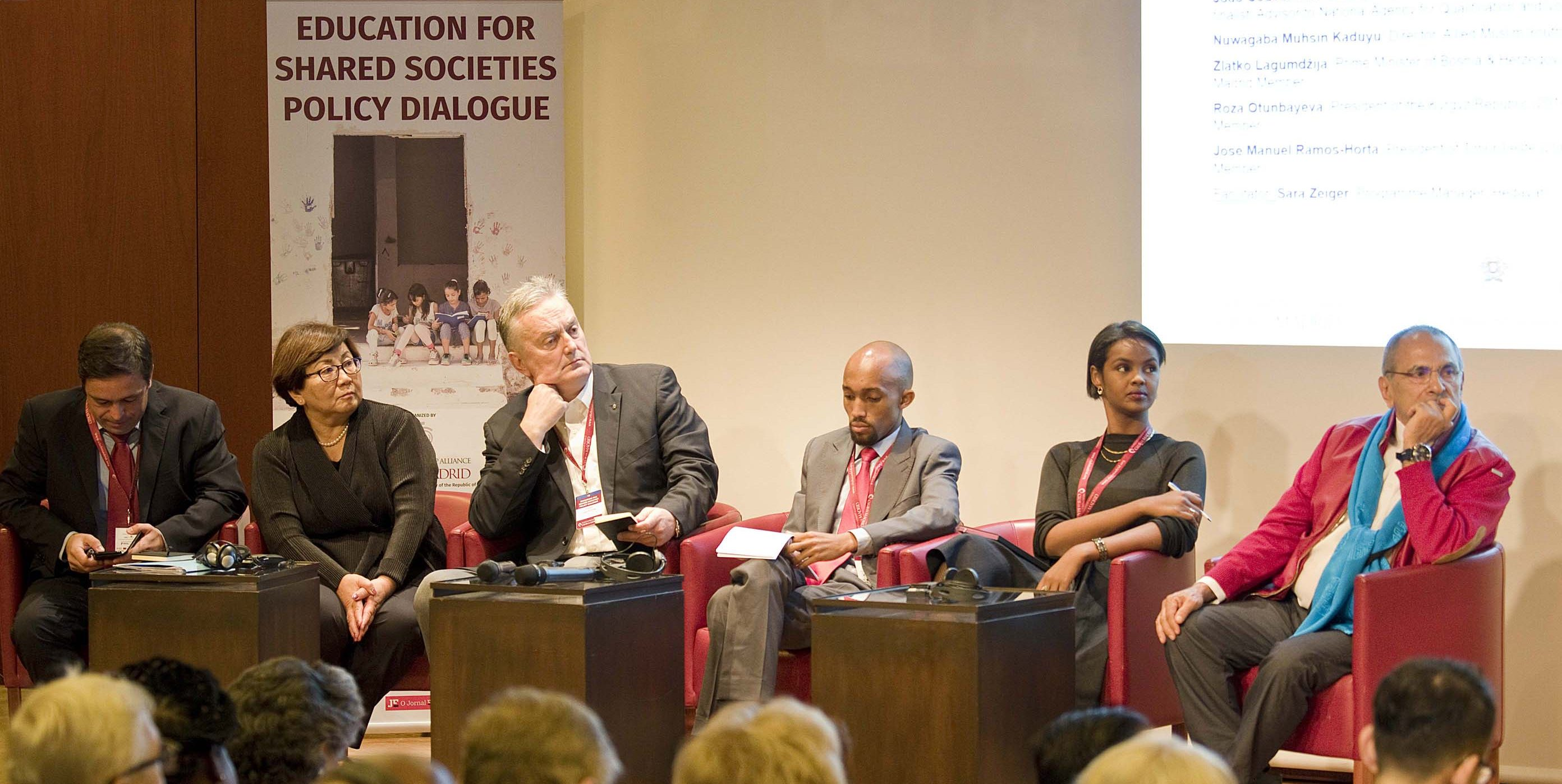 'Education for Shared Societies Policy Dialogue' to produce a global agenda for inclusive education