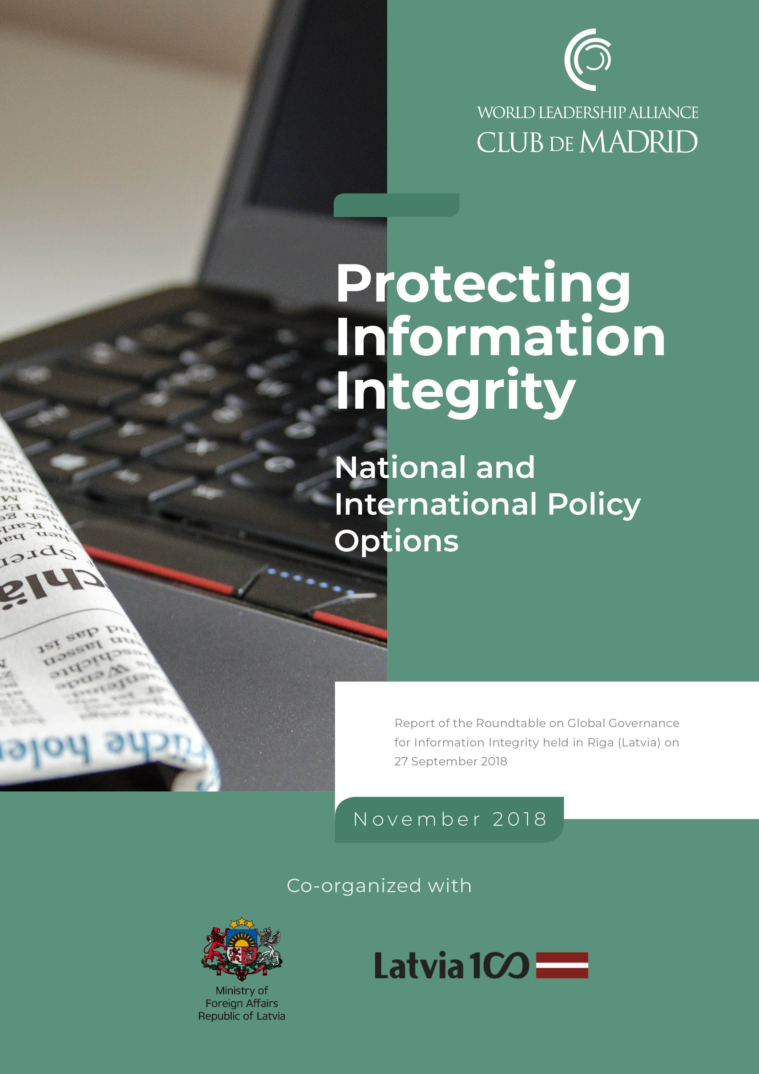 Protecting Information Integrity: National and International Policy Options