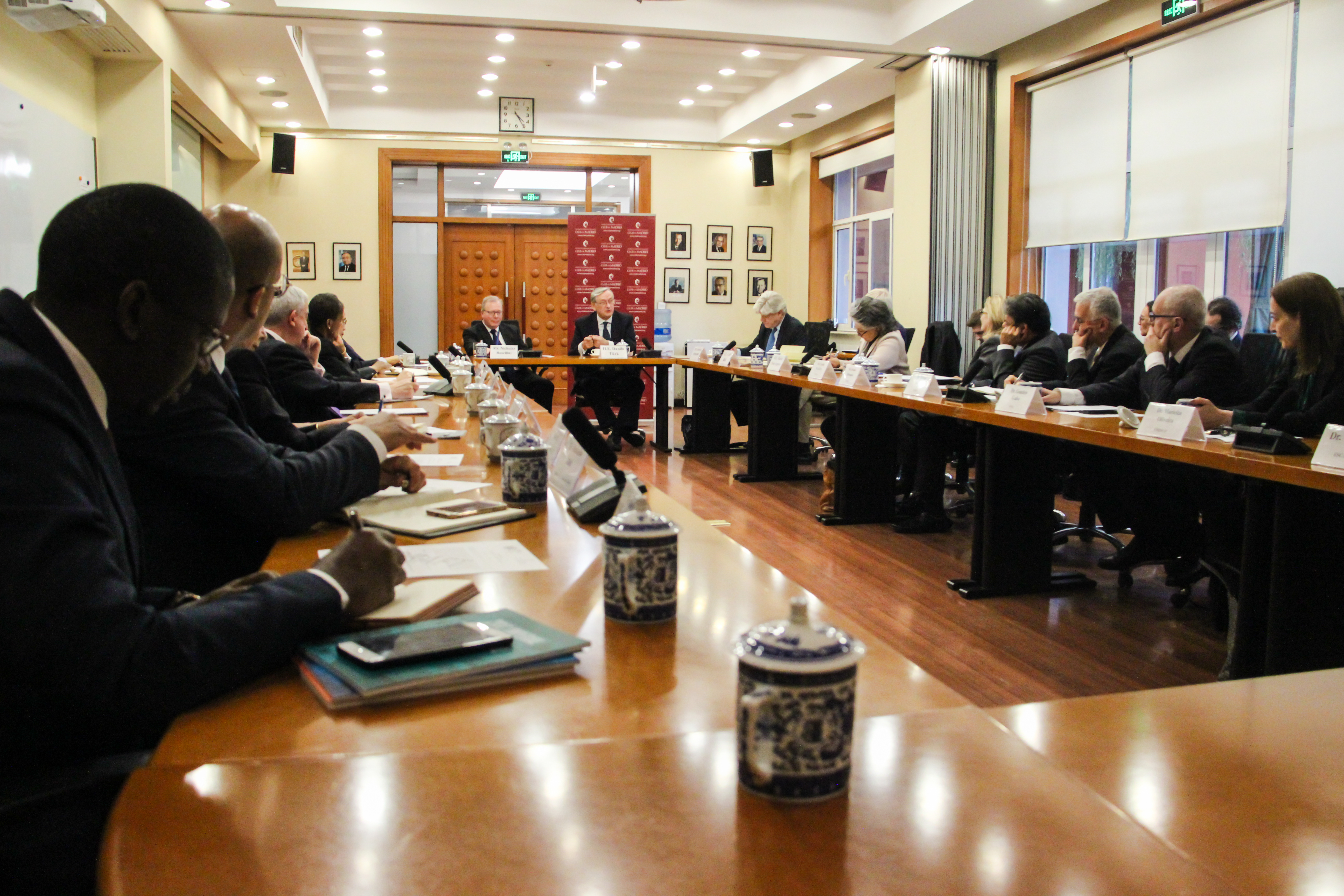 Club de Madrid Members exchange ideas for a renewed multilateral system at United Nations China
