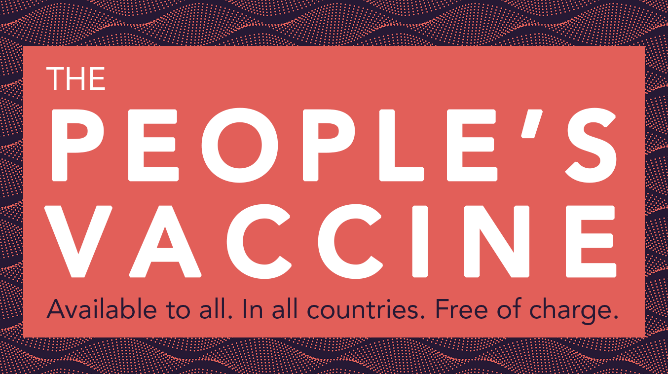 Uniting behind a people's vaccine against COVID-19
