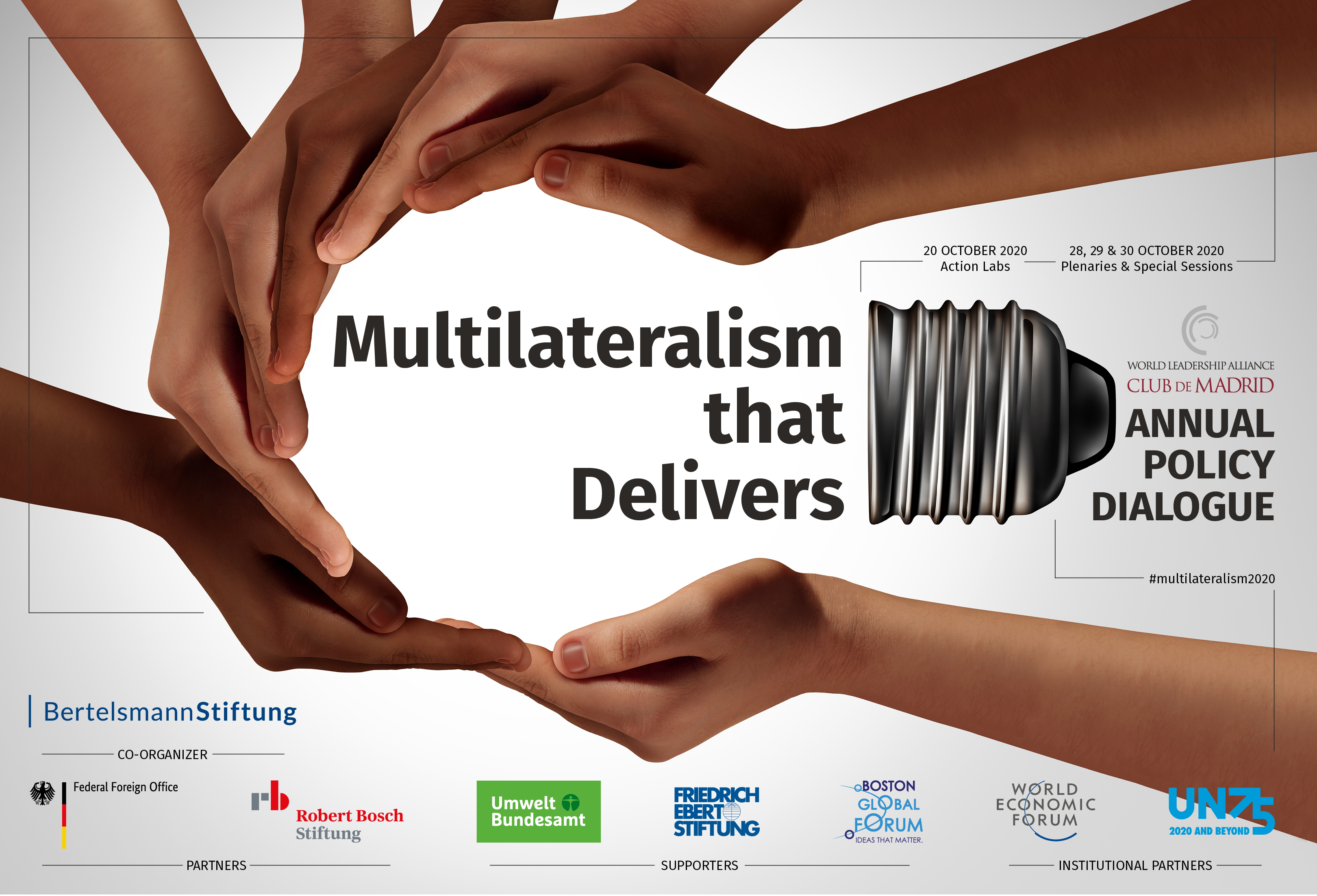 Policy Dialogue 2020: Multilateralism that Delivers
