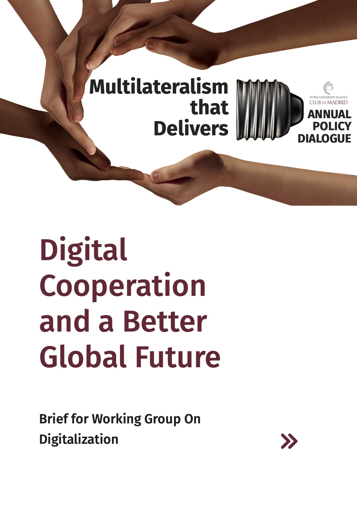 Digital Cooperation for a Better Global Future