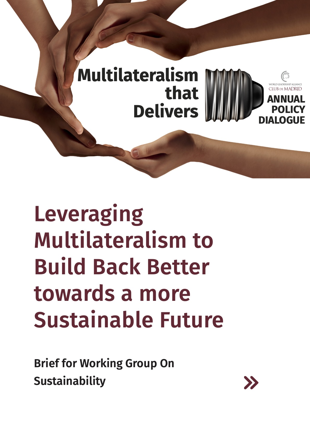 Leveraging Multilateralism to Build Back Better towards a more Sustainable Future
