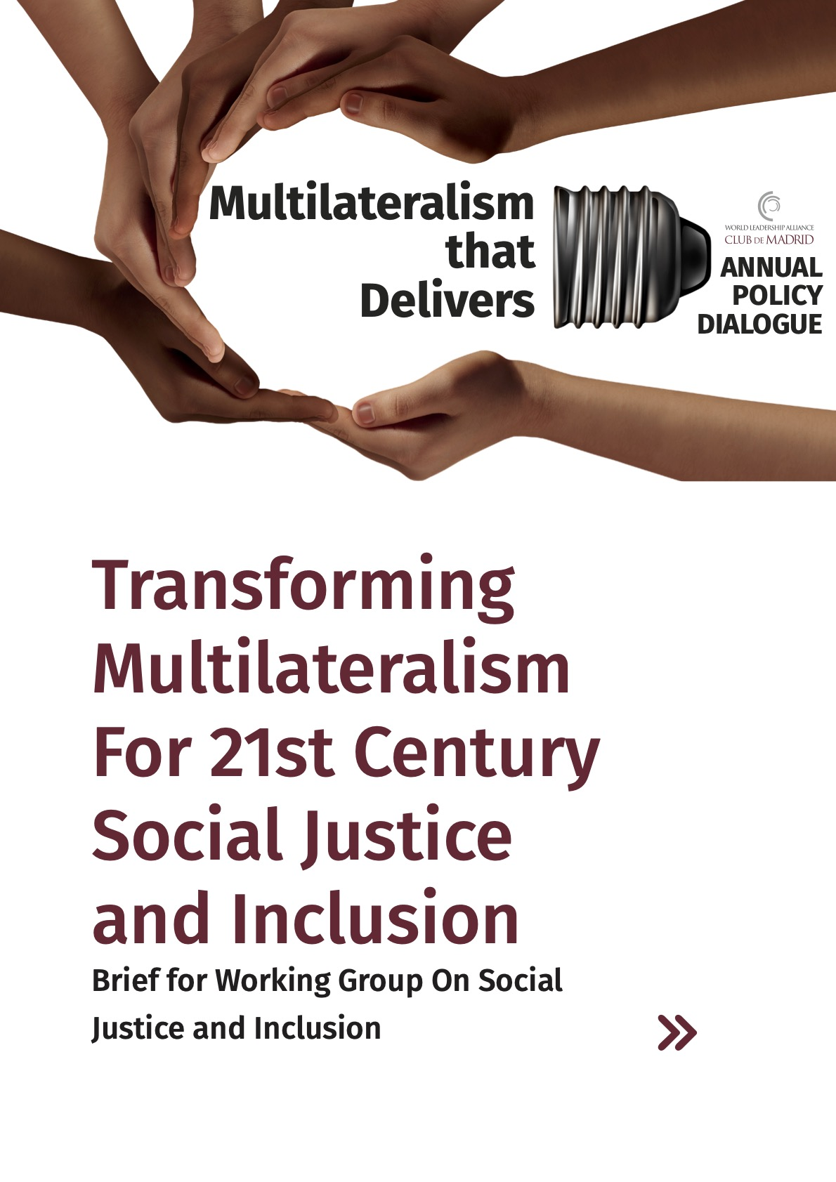 Transforming Multilateralism for 21st Century Social Justice and Inclusion